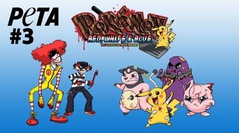Pokémon Red, White & Blue -- PETA's X&Y Parody Game!