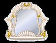 Beige Rococo Mirror