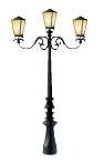 Venetian street lamp decal
