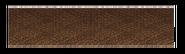 Brown thick pile carpet floor extender