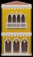 Yellow Venetian Building Decal
