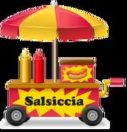 Hot Dog Vendor Cart