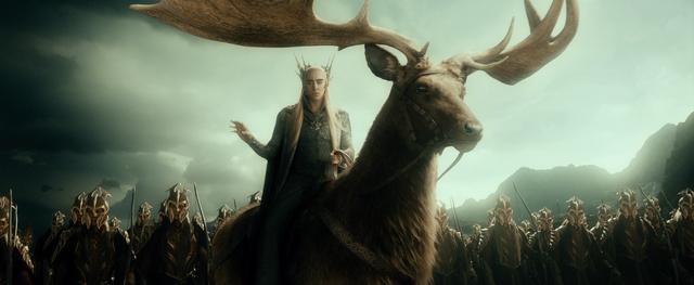 File:Thranduil on his elk.png