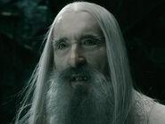 Christopher Lee as Saruman BOTFA