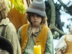 Luc Campbell as Cute Young Hobbit BOTFA