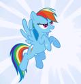 Rainbow Dash Wonderbolt fantasy cropped S1E3-1-