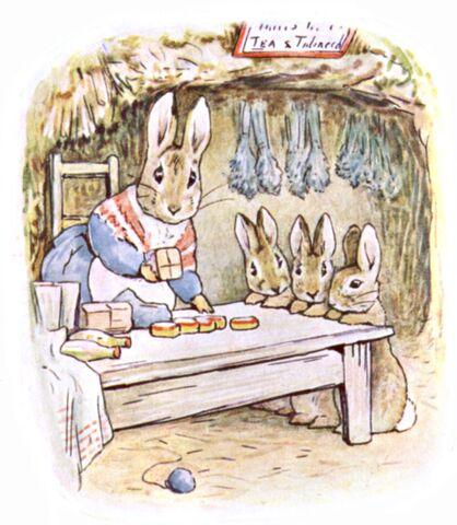 File:Beatrix Potter, Benjamin Bunny, Mrs Rabbits shop.jpg