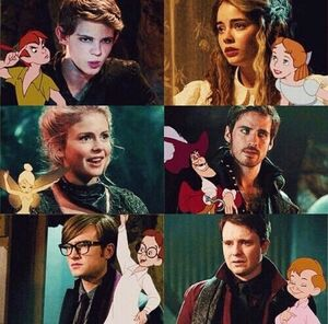 Neverland actors OUAT