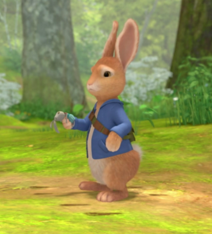 File:Peter-Rabbit-Looking-For-His-Sister-Cotton-Tail-Rabbit.png