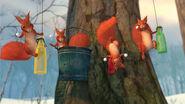 Peter Rabbit's Christmas Tale Scene