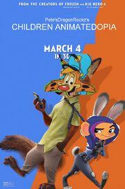 Children Animatedopia Poster