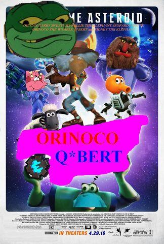 File:Orinoco and Q-Bert Poster.jpg