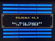 MILOCALC43 Splashscreen