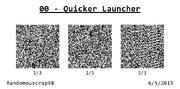 00 - Quicker Launcher