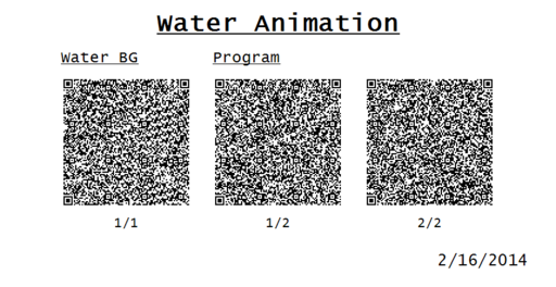 Water Animation