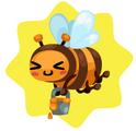 Buzzing Loppi Bee