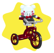 Pigsaw tricycle