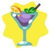 Cosmopawlitan cocktail
