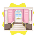 Dolls house entrance