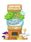 Snow white mystery egg machine