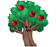 Angry apple tree