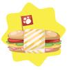Groovy sandwich