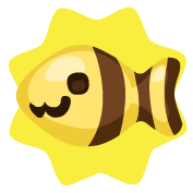 Bee fish bait