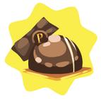 Truffe en chocolat