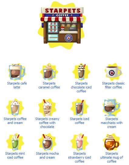 Starpets coffe