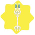 Elven kingdom candelabra