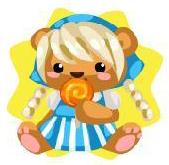 Gretel bear plushie