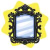 Modern luxury mirror