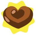 Cute heart ornament
