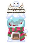 Snowman ornaments mystery egg machine