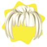 Mon petit cheri blonde elegant wig