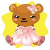 Christine bear plushie