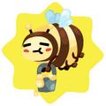 Buzzing chris bee