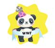 WWF Panda with Banner