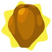 Homegrown papaya