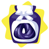 Dark purple wig dye