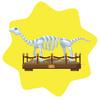 Dinosaur skeleton model