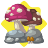 Wild mushrooms decor
