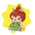 Prehistoric Girl Plushie