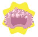 Romantic pixie wig