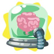 Mad scientist brain cap