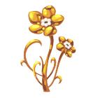 Precious Golden Flower