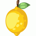 Homegrown lemon