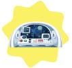Spaceship control panel