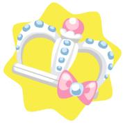 White cute crown