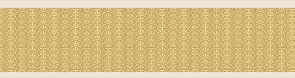 Vintage golden wallpaper expanded